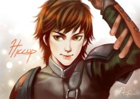 Fan Art- Hiccup by davidmccartney
