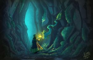 Litt- The Cave by MadJesters1