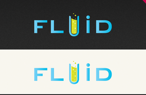 Fluid logotype by kamazzz