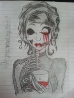 Want my blood? by Ladyjeanette18