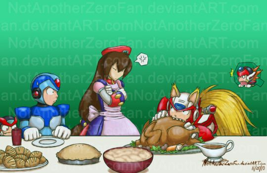 Obligatory Thanksgiving pic... by NotAnotherZeroFan