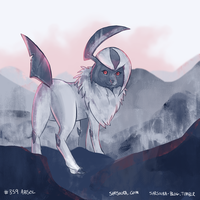 PKMN #359 - Absol by kittehmeow