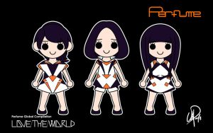 Perfume Global Compilation LOVE THE WORLD SP 16:10 by XCurarpiktX