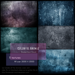 Colorful Grunge Pack by SamKross-Stock