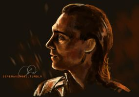 Loki - God of Mischief by ChristyTortland