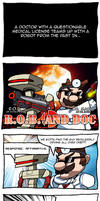 R.O.B. and Doc by Dragonith