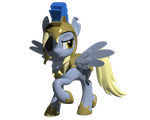 General Derpy 3D Model by Clawed-Nyasu