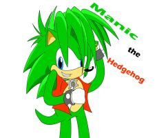 Manic the Hedgehog by tacofacedrawer