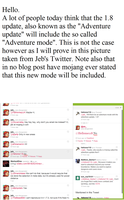 No adventure mode in 1.8 by Khan-the-cake-lover
