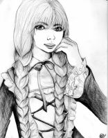 Gothic Lorella in Black-White by Krisa-Beth-Ahcor