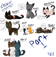 TAW- Chibis part 1 by slycooper998