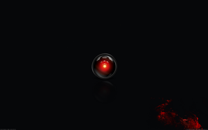 HAL9000_black_bloody by 3xhumed