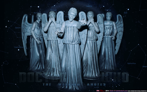 FANART: COSPLAY: THE WEEPING ANGELS (Dr Who) by CSuk-1T