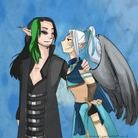 Request for FluffyStuff101324: Maximus/Nirone by Sogequeen2550