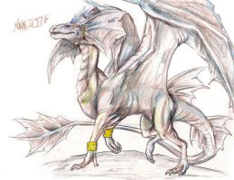 Nakilite color pencil concept by blackdragonhuntress