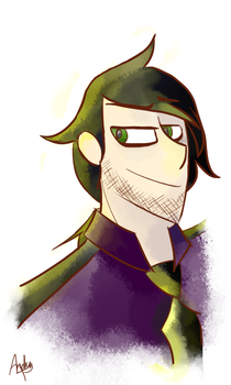 Vincent(Acuarelle) by ABeatriceCV
