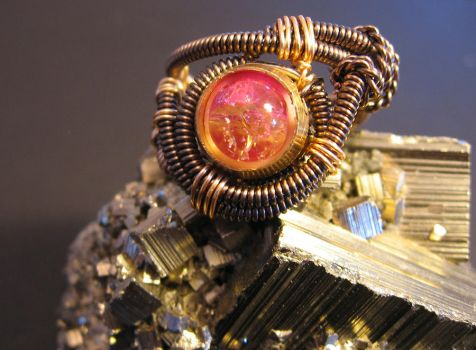 Custom Steampunk Ring by Psewell