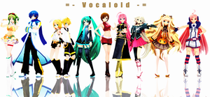 = - Vocaloid - = by Crystallyna