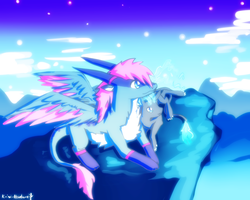 On the very high top by Kristallschweif