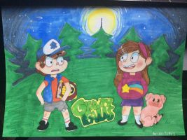 Gravity Falls (remake) by Ao-No-Lupus