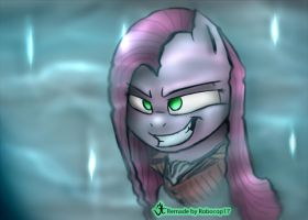 AsLong as You live i will still be here, Pinkamena by RoboCop17