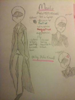 My oc ref - Manlo  by Xyla-Chan0
