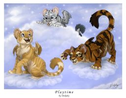 Playtime by DolphyDolphiana