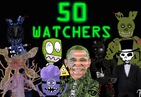 50 Watchers! Thank you guys so much! by Dangerdude991