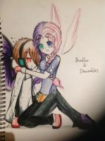 Deadlox and Dawnables by ThisAubZisonFIRe