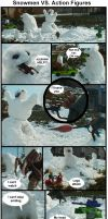Snow VS Action figures by JediMichael