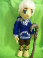 Jack Frost plush by PollyRockets