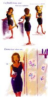 Storybrooke Bedtime by samanthadoodles