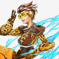 Tracer Golden by onikas