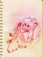 racing car by RusRed