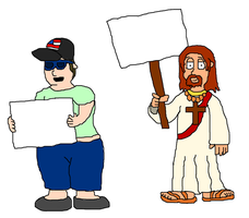 What Would Jesus Say by SuperAshBro