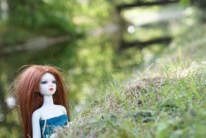 BJD -What is behind the hill ? by beedoll
