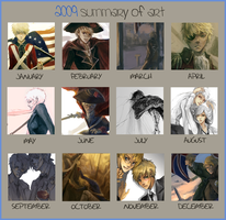 2009 SUMMARY OF ART by hakuku