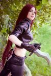 Katarina (cosplay League of Legends) by eiphen