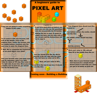 Pixel art - A beginners tut by PCS-OneMoreLevel