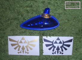 Ocarina of Time custom SOLD by WolfPink