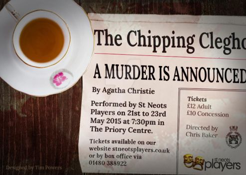 A Murder Is Announced - St Neots Players by timmoproductions
