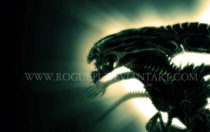 ALIEN queen wallpaper by RoguePL