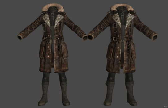 'Fallout 4' Maxson's Coat XPS ONLY!!! by lezisell