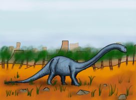 Diplodocus by HairyDalek