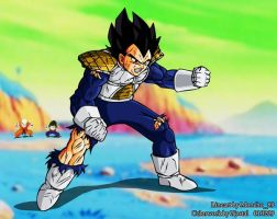 Dragonball Vegeta ft Moncho89 by Nostal