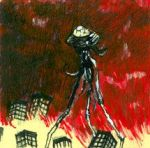 war of the worlds by thepostitsproject