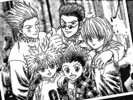 hunterxhunter by edale18
