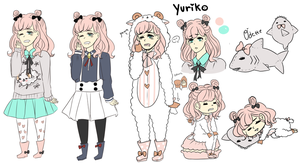 Yuriko reference by Atelier-Aka
