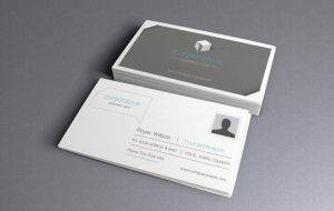 Free Corporate Business Card 2 by Pixeden