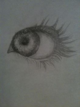 Just this one eye :) by CrissAlyss